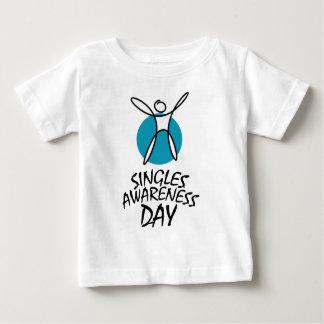 15th February - Singles Awareness Day Baby T-Shirt