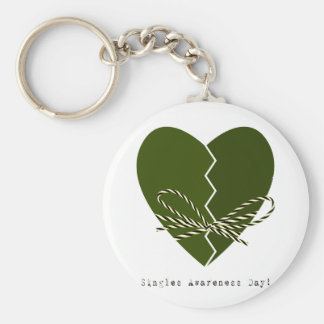 15th February - Singles Awareness Day Keychain