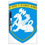 15th Infantry Brigade Emblem Greece Dry Erase White Board