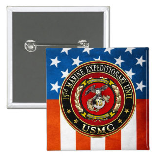15th Marine Expeditionary Unit 15th MEU 3D Buttons