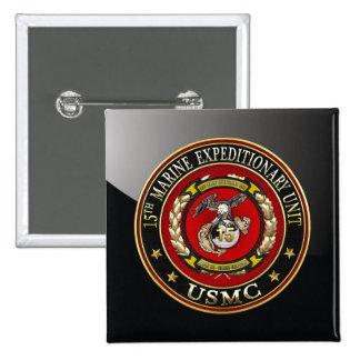 15th Marine Expeditionary Unit 15th MEU 3D Pins