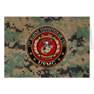 15th Marine Expeditionary Unit (15th MEU) [3D] Card