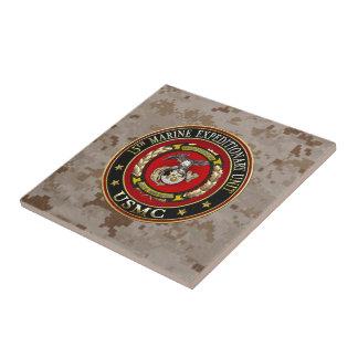 15th Marine Expeditionary Unit (15th MEU) [3D] Ceramic Tile