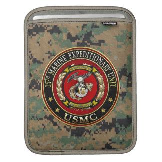 15th Marine Expeditionary Unit (15th MEU) [3D] iPad Sleeve