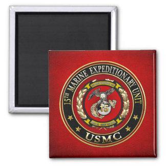 15th Marine Expeditionary Unit (15th MEU) [3D] Magnet