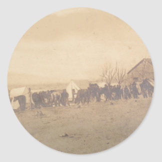 15th PA Cavalry 1865 Classic Round Sticker