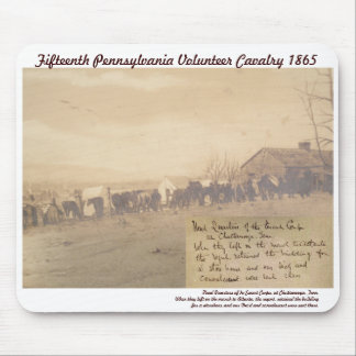 15th Pennsylvania Vol. Cavalry Mouse Pad