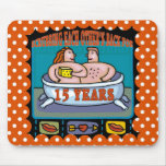 15th Wedding Anniversary Gifts Mousepad