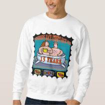 15th Wedding Anniversary Gifts Sweatshirt