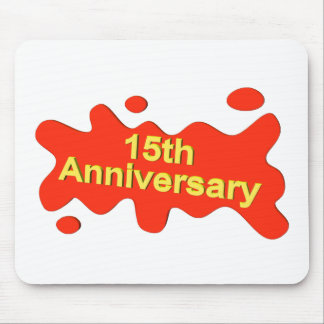 15thanniversary1t mouse pad