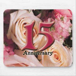 15thanniversary2 mouse pad