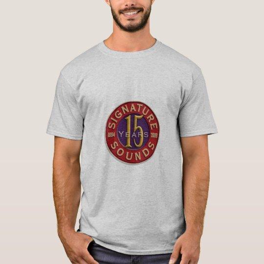 15years Signature Sounds Artist Shirt