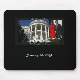 1600 Mousepad Obama Black