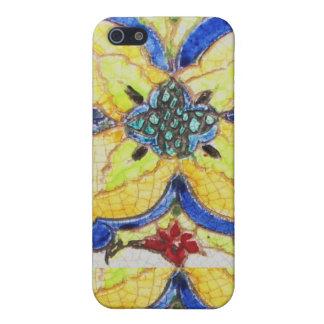 1600s pern florales árabes de la teja del adorno iPhone 5 carcasas
