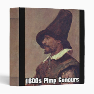 1600s Pimp 1 3 Ring Binder