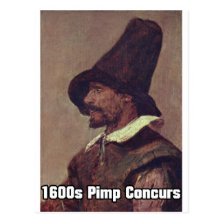 1600s Pimp 1 Postcard