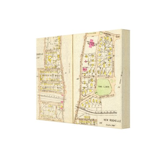 160161 New Rochelle Gallery Wrapped Canvas