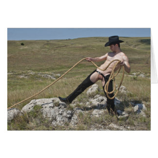 16023-RA Cowboy Card