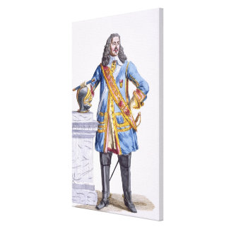 1608-70) duques de George Monke (de Albermarle de  Impresión De Lienzo
