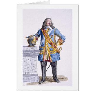 1608-70) duques de George Monke (de Albermarle de  Tarjeta De Felicitación