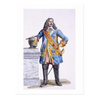 1608-70) duques de George Monke (de Albermarle de Tarjeta Postal