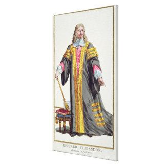 1609-74) primeros condes de Edward Hyde (de Claren Impresion De Lienzo