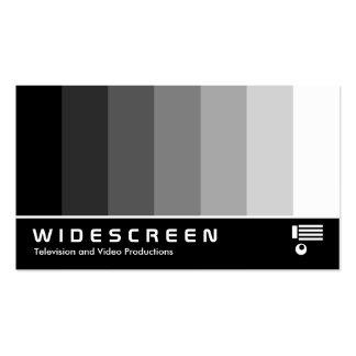 160 con pantalla grande - Mezcla del color - negro Tarjetas De Visita