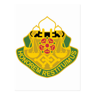 160 Military Police Battalion Postcard
