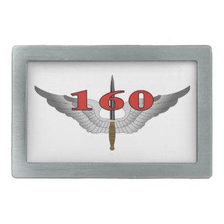 160o Regimiento de la aviación de las operaciones Hebilla Cinturon Rectangular