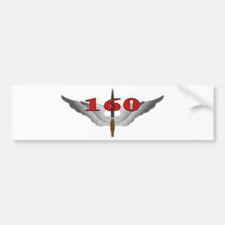 160o Regimiento de la aviación de las operaciones Pegatina Para Auto