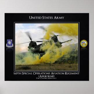 160o Regimiento de la aviación de las operaciones Póster