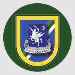 160th Aviation - Special Operations - Airborne 1 Classic Round Sticker