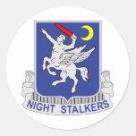 160th SOAR Classic Round Sticker