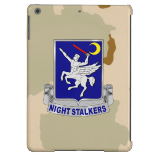 """160th SOAR """"Night Stalkers"""" Army Desert Camo iPad Air Cover"""