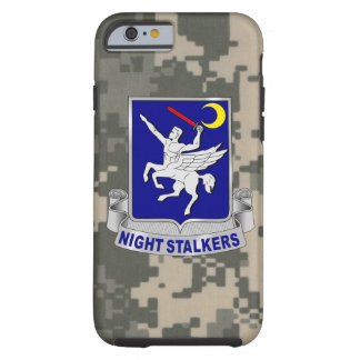 "160th SOAR ""Night Stalkers""  Army Digital Camo Tough iPhone 6 Case"