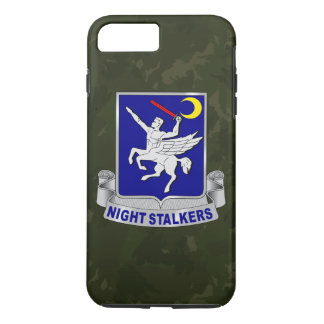 "160th SOAR ""Night Stalkers"" Dark Green Camo iPhone 8 Plus/7 Plus Case"