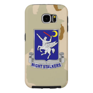 "160th SOAR ""Night Stalkers"" Desert Camo Samsung Galaxy S6 Case"