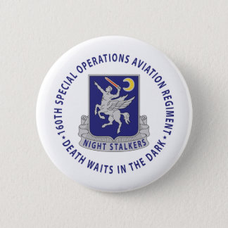 160th SOAR - Night Stalkers Pinback Button
