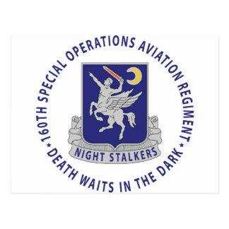 160th SOAR - Night Stalkers Post Cards
