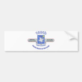 160TH SPECIAL OPERATION AVIATION REGIMENT SOAR BUMPER STICKER