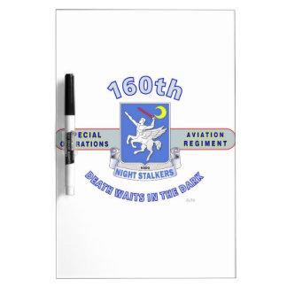 160TH SPECIAL OPERATION AVIATION REGIMENT SOAR DRY ERASE BOARDS