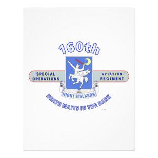 160TH SPECIAL OPERATION AVIATION REGIMENT SOAR PERSONALIZED LETTERHEAD