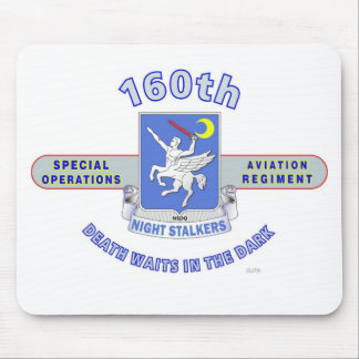 160TH SPECIAL OPERATION AVIATION REGIMENT SOAR MOUSE PADS