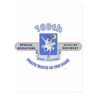 160TH SPECIAL OPERATION AVIATION REGIMENT SOAR POSTCARD