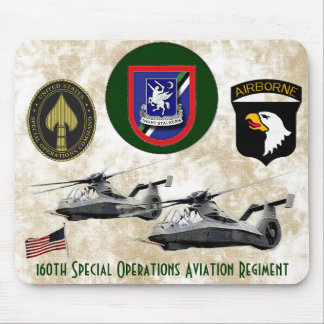 160th Special Operations Aviation Regiment Mouse Pads