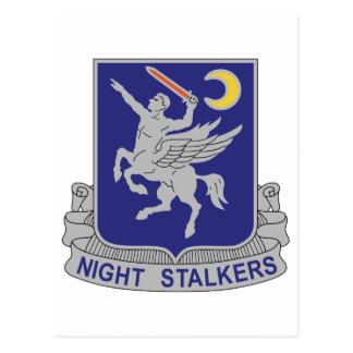 160th Special Operations Aviation Regiment Postcard