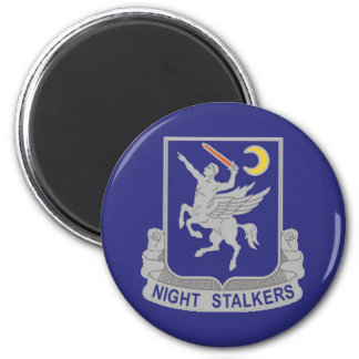 160th Special Operations Regiment 2 Inch Round Magnet