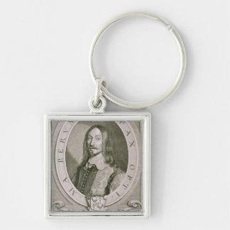 1611-57) cuentas de Johan Axelsson Oxenstierna (de Llavero Cuadrado Plateado