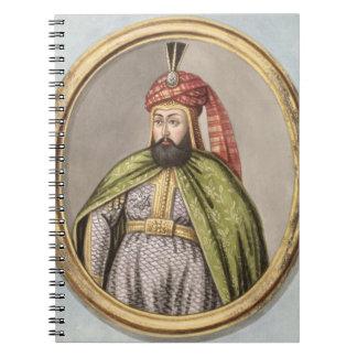 1612-40) sultanes IV de Amurath (Murad) (1623-40,  Spiral Notebook