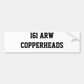 161 ARW   COPPERHEADS BUMPER STICKER